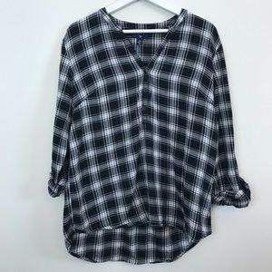 $10 CLOSET SALE❗️Gap Checkered Popover